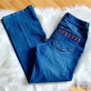 Petite Bootcut Jeans from Loft